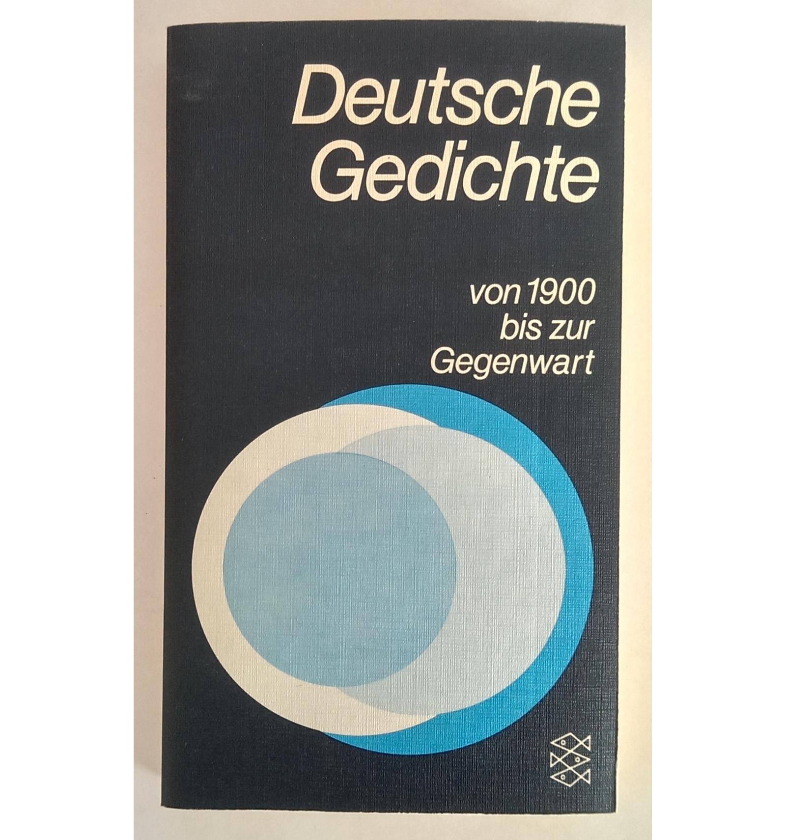 Pratz Fritz Hrsg Deutsche Gedichte Von 1900 Bis Zur Gegenwart