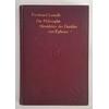 Lassalle, Ferdinand: Die Philosophie Herakleitos des Dunklen von Ephesos. Zweiter Band. Na ...