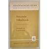 Schmitz, Carl August (Hrsg.): Historische Völkerkunde. ...