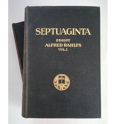 Rahlfs, Alfred (Hrsg.): Septuaginta. Id est vetus Testamentum Graece iuxta LXX interpretes ...